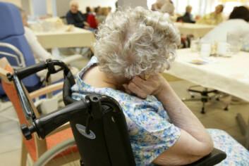 Vi blir stadig eldre, og antall personer med nevrologiske sykdommer som krever lindrende behandling vil i løpet av kort tid tredoble seg som følge av dette. (Illustrasjonsfoto: www.colourbox.no)