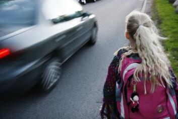 """""""BEST ELLER VERST? Hvem er den beste skoleveien i Norge, med hensyn til utslipp av klimagassen CO2? Det vil barn og unge forske på i høst."""""""