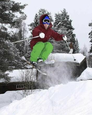 Fremveksten av ekstremsportfilmene er bygget rundt kule triks som kameratgjengen kan leke seg med på fritiden. (Foto: Jørgen Skaug/ Lillehammer.com)