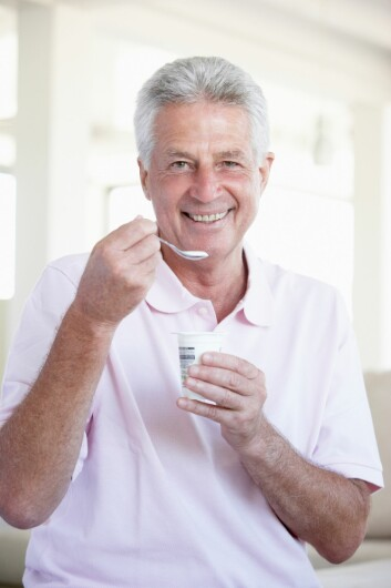 Når melk syrnes (fermenteres), oppstår en bakteriekultur som er gunstig for oss mennesker. (Foto: Colourbox)