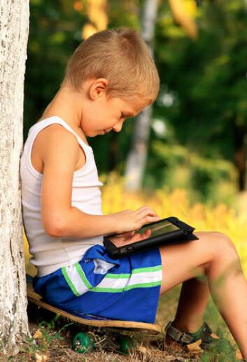 Kan en app lette hverdagen til barn med ADHD? (Foto: Colourbox)