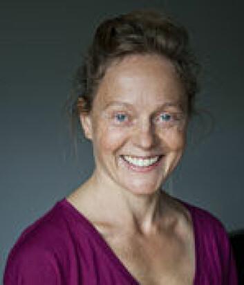 Mia Keinänen er forsker ved Norges idrettshøgskole. (Foto: Andreas B. Johansen)