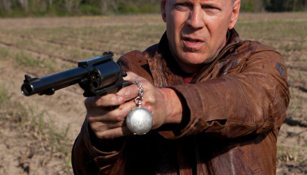 Bruce Willis i filmen Looper. Norsk Filmdistribusjon