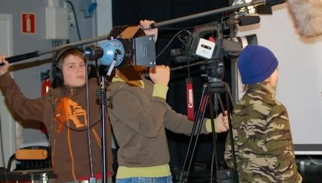 Stort spenn når ungdom lager film