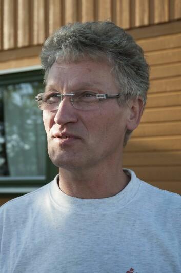 Rådgiver Gustav A. Karlsen i Norsk landbruksrådgivning Lofoten er engasjert i arbeidet med utviklingen av landbruket i Lofoten og Vestvågøy kommune. Han er også daglig leder i Lofotlam SA. (Foto: Lars Sandved Dalen / Skog og landskap)