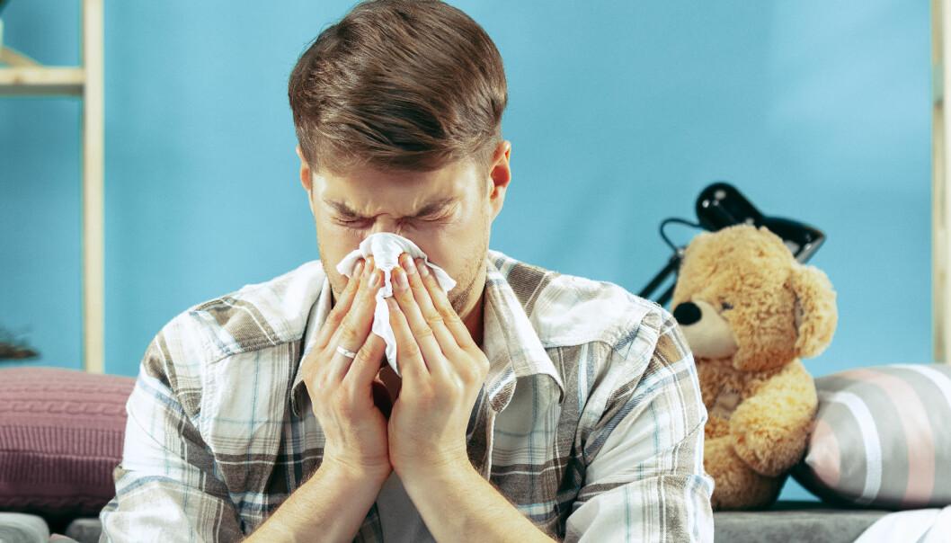 Blir man forkjølet av å fryse?
