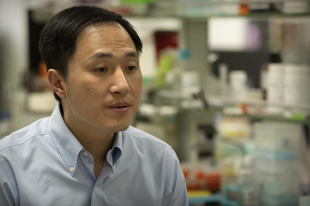 Den kinesiske forskeren He Jiankui er dømt til tre års fengsel.