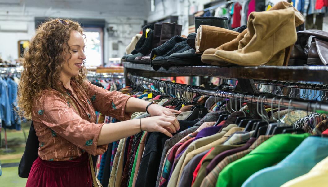 Deltakerne i studien ble blant annet spurt hvor ofte de kjøpte brukte varer.