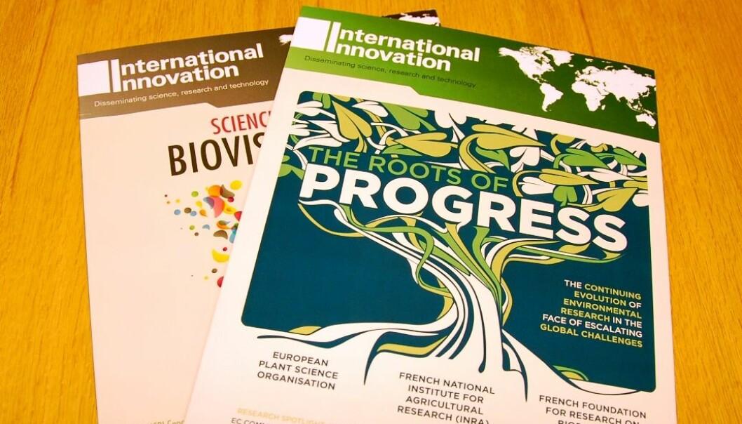 Bladet International Innovation tar betalt for å intervjue forskere. Kommunikasjonsfolkene ved forskernes egne institusjoner er skeptiske til den typen formidling. Hanne Østli Jakobsen