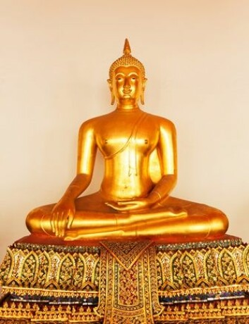 Buddha fremstilles nesten alltid i meditasjonspositur. (Foto: Nomad_Soul/Scanpix)