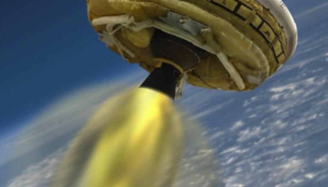 Flyvende tallerken skal testes for første gang