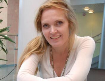 Prosjektleder Tatjana Burkow skal motivere kols-syke til trening. (Foto: Jan Fredrik Frantzen)