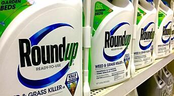 Roundup er ikke så skadelig som du kanskje tror