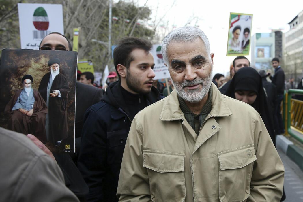 USAs likvidasjon av den iranske generalen Qasem Soleimani (bildet) og flere irakiske militsledere, kan få uante følger, advarer eksperter.