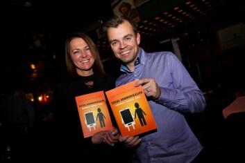 Sosiale medier vil endre måten vi kommuniserer på, hevder Cecilie Staude og Svein Tore Marthinsen. (Foto: Sosial kommunikasjon.)