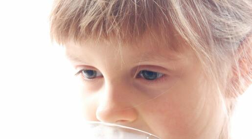 Barn som drakk helmelk var tynnere enn de som drakk lettmelk