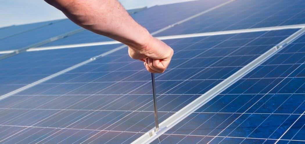 Silisium er blant annet viktig for fremstilling av solcellepaneler.