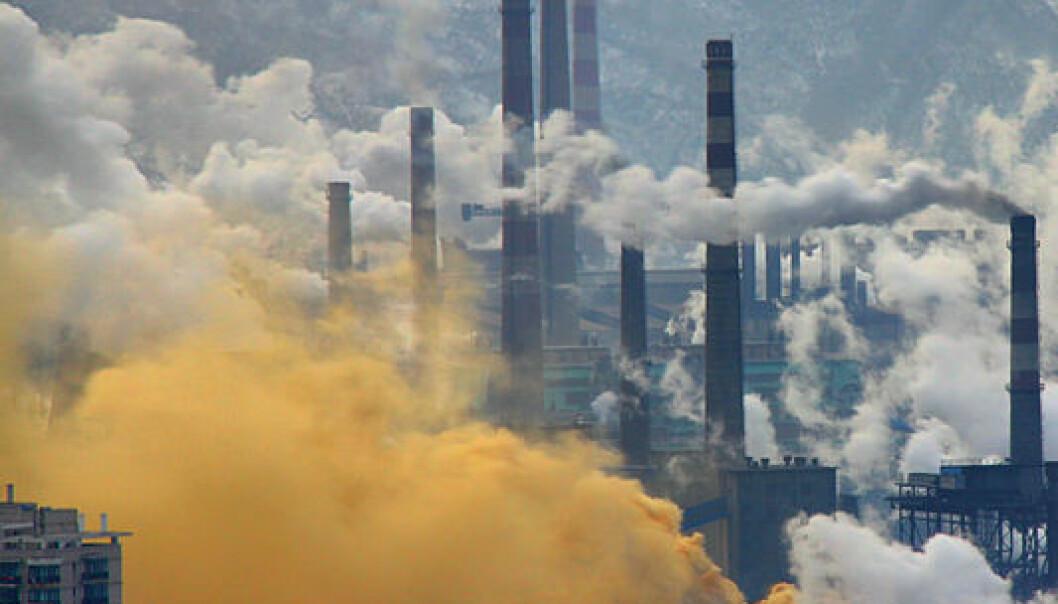 Benxi, stålindustri i Kina, februar 2013. Andreas/Wikimedia Commons