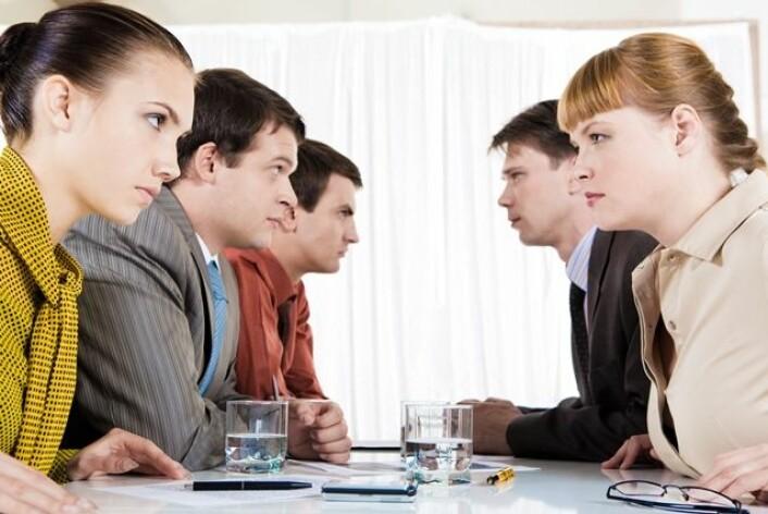 Spillereglene er annerledes avhengig av om møtet skal drøfte daglig produksjon eller diskutere endringer, konkluderer studien. (Foto: Colourbox)