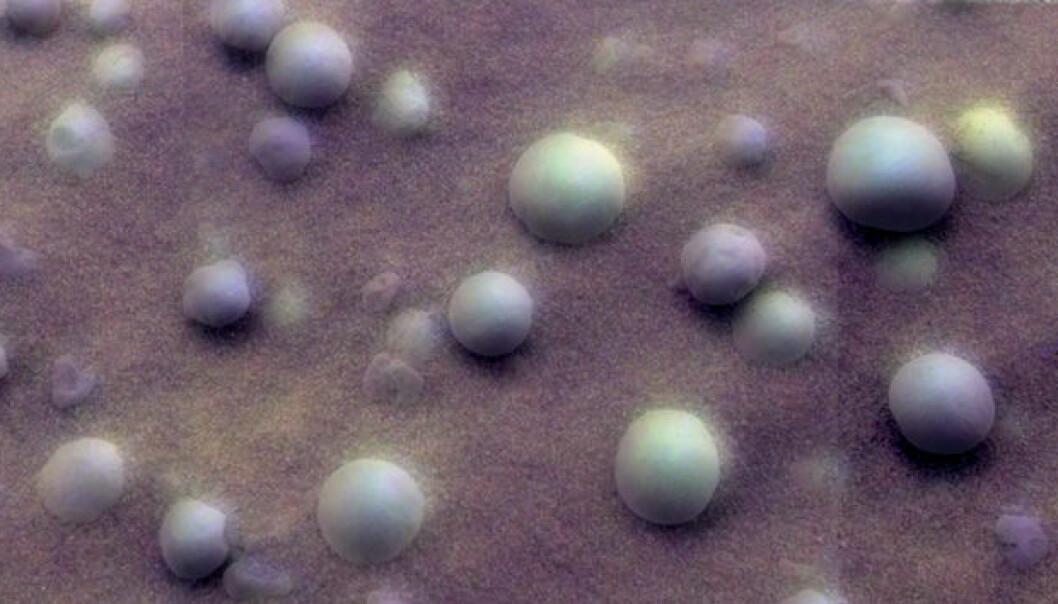 Forskere klødde seg i hodet over disse kuleformede steinene på et par millimeter.