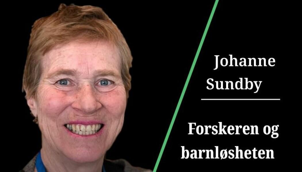 Johanne Sundby endte opp med å forske på sin egen barnløshet.