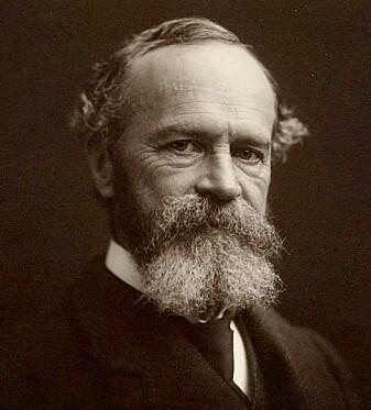 William James var professor i psykologi og filosofi på Harvard-universitetet i USA.
