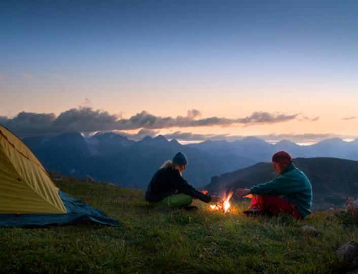 En uke i telt kan restille din indre døgnrytme. (Foto: iStockphoto)