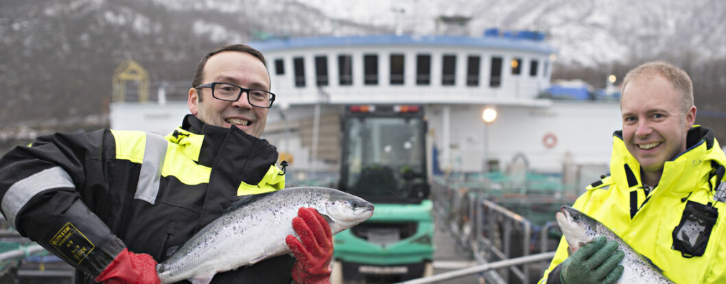 """""""In recent years there has been a marked increase in the level of costs when it comes to salmon farming"""", says Audun Iversen"""