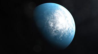 Nasa fant planet på størrelse med Jorda