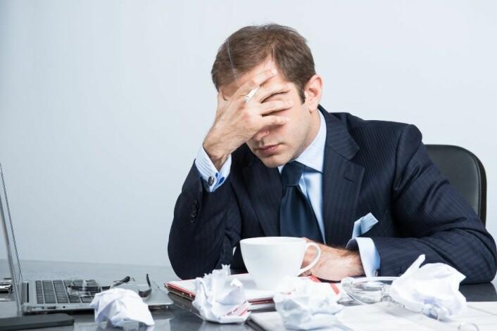 Føler du deg stressa eller møter veggen, er det mulig at du har et tvangsmessig lidenskapelig forhold til jobben. (Foto: Microstock)