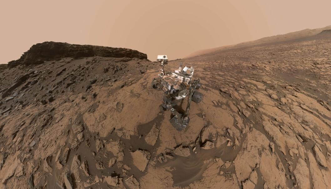 Curiosity hadde med seg flere og mer avanserte vitenskapelige instrumenter med seg enn de tidligere roverne.