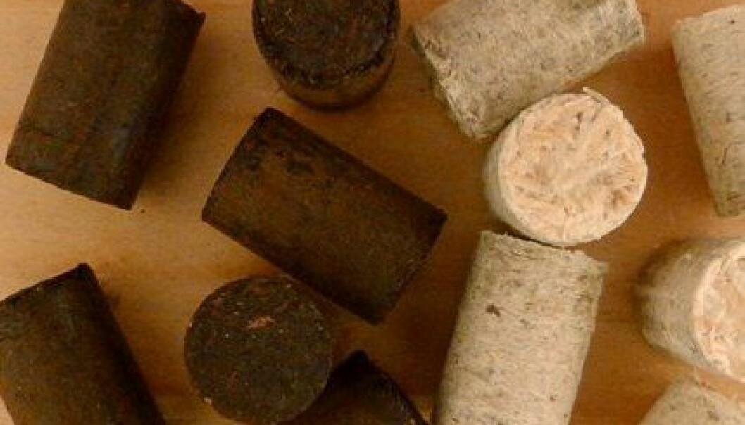 Tett pellets kan erstatte kull