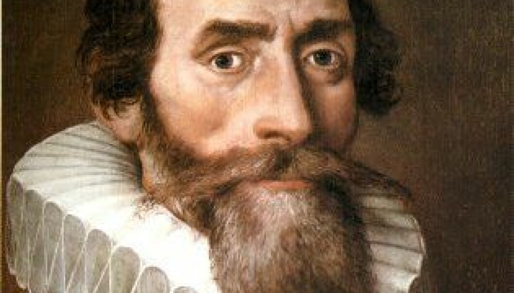 Johannes Kepler. (Wikimedia Commons)