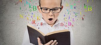 Fra for barn å lære bokstavene raskere