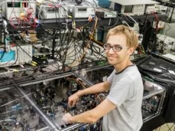 I tre år har Jonas Neergaard-Nielsen arbeidet med kvanteoptikk i Japan. Nå er han postdoktor på DTU. (Foto: Kazuhiro Hayasaka)