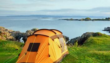Telt ved havet. iStockphoto