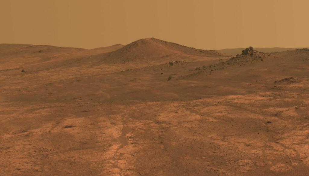 Utsikt på Mars.