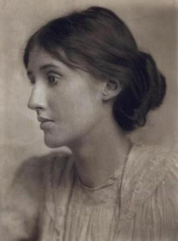 Virginia Woolf fotografert av George Charles Beresford i 1902. (Foto: Wikimedia commons)