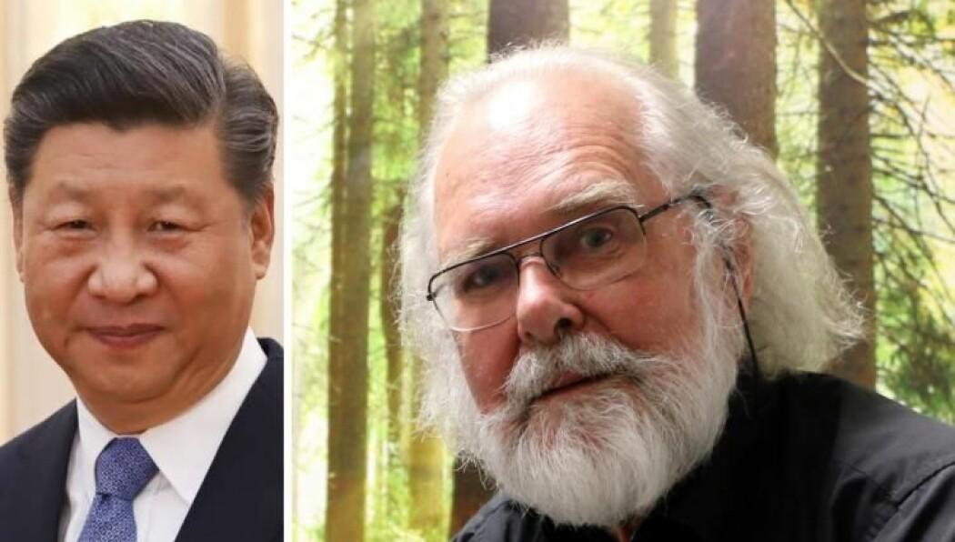 Kinas president Xi Jinping var til stede da Nils Chr. Stenseth ble tildelt Kinas viktigste internasjonale forskerpris.
