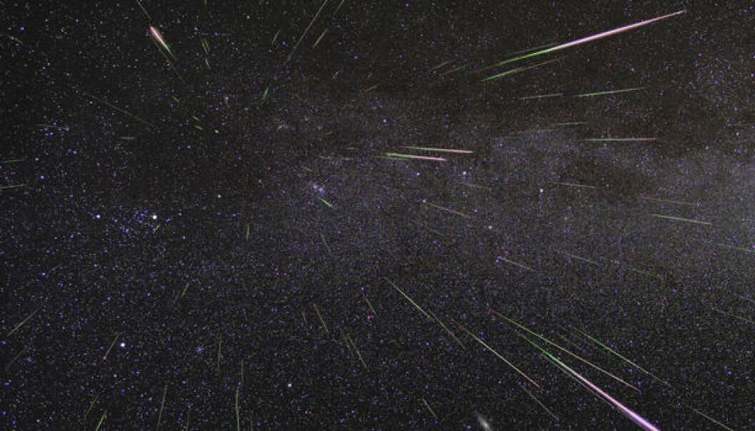 Meteorsvermer, flere stjerneskudd på kort tid, oppstår omtrent på samme tid hvert år. Her er en oversikt over når de kan observeres i 2020.