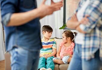 Hvor skal barna bo hvis foreldrene skiller seg?