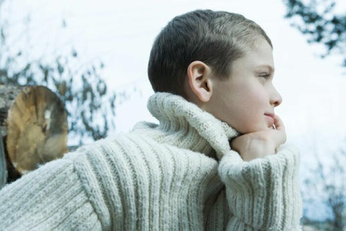 Aggressiv oppførsel hos barn blir ofte sett på som et resultat av at foreldrene ikke greier å sette tydelige rammer eller kontrollere forholdene innad i familien. (Foto: (www.colourbox.com))