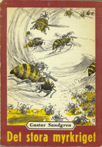 Fredsprosessen som skildres i «Det stora myrkriget» minner om måten FN jobber på, mener Nina Goga. Boken er gitt ut med forord skrevet av FNs daværende generalsekretær, Trygve Lie. (Foto: Lindqvists forlag)