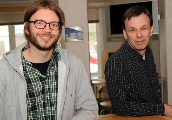 Kultur- og opplevelsesnæringene i Trøndelag har knapt økt i perioden 2004-2008 sier forskerne Espen Carlsson, Trøndelag Forskning og Utvikling, og Jørund Aasetre, NTNU. (Foto: Morten Stene)
