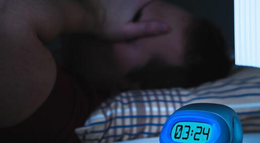 Svensk studie: Søvnmangel kan skade hjernen