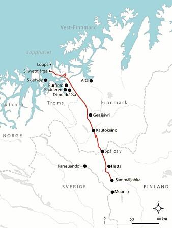 Anders Bær og familien flyttet hvert år med reinflokken fra kysten i Nord-Norge om sommeren til Finland om vinteren. Høsten 1852 ble det brått slutt på det.