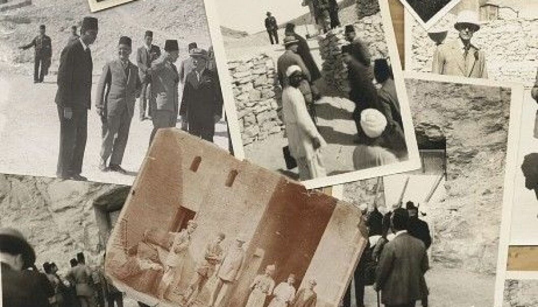 Howard Carters bilder. Bonhams