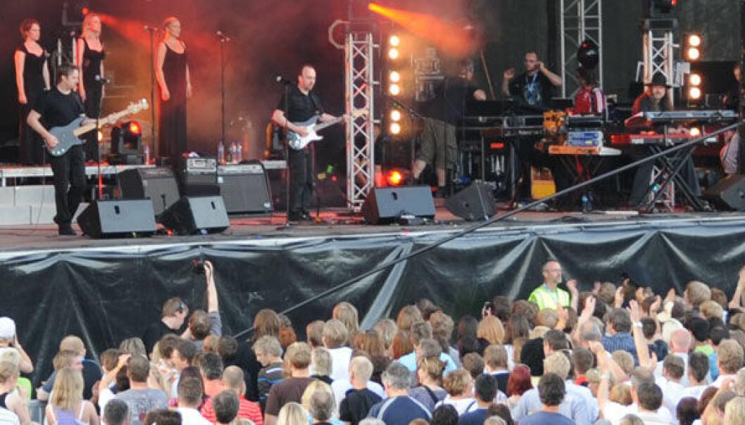 Mange ulike kultur- og opplevelsesbaserte næringer jobber med festivaler som Steinkjerfestivalen. Morten Stene