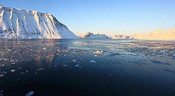 Vinteren bremser utslipp av metangass