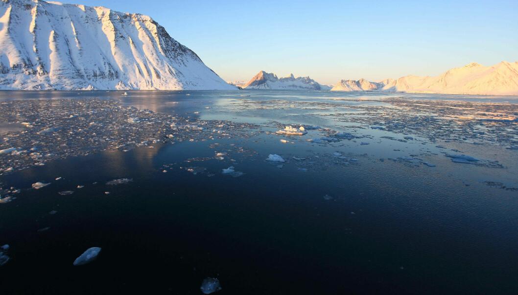 Det er i praksis bare to årstider i Arktis: en lang vinter og en mildere sommersesong. Vanntemperaturen på bunnen av havet varierer mye fra vinter til sommer. Dette er også tydelig i området som er undersøkt, utenfor kysten av Svalbard.
